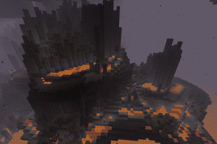 Базальтовые дельты Minecraft: обзор биома в игре