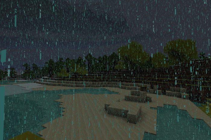 Как отключить дождь в Майнкрафте