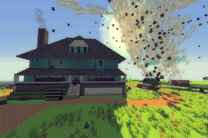 Как поменять погоду в Minecraft