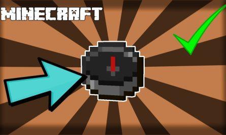 Как сделать компас в Minecraft