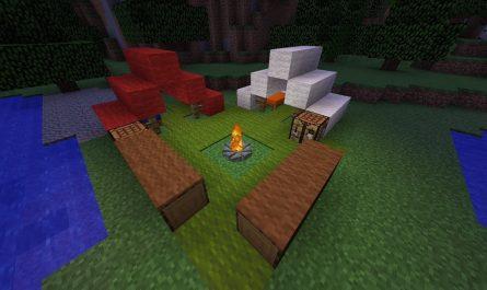 Костер Minecraft гайд