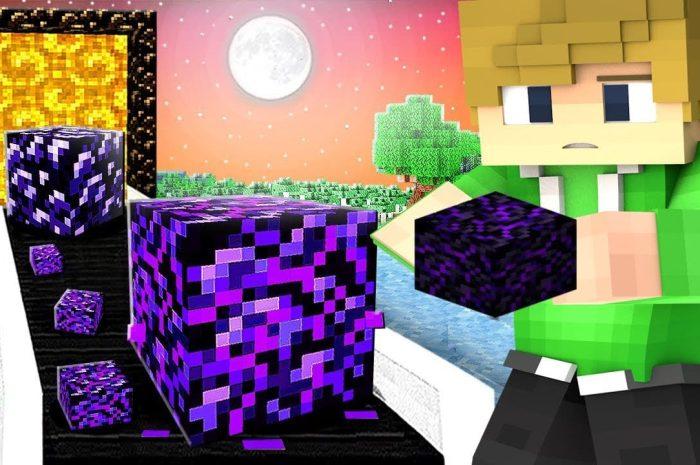 Плачущий обсидиан Minecraft: гайд для игроков