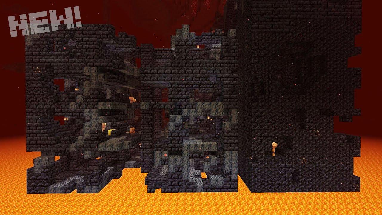 Развалины бастиона Minecraft гайд